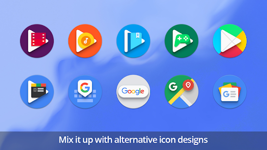 PieCons Apk- Ultimate Android Pie Icon Pack 3.6 (Patched) 6