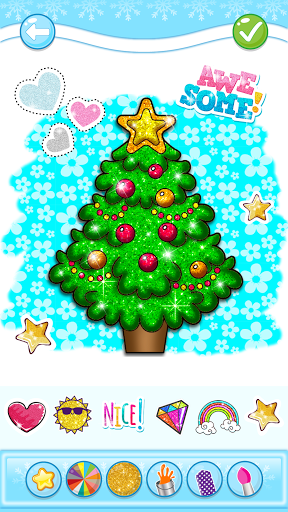 Christmas Coloring Game - Learn Colors  screenshots 7