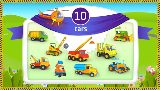 Leo the Truck and cars: Educational toys for kids 1.0.58 Screenshots 2