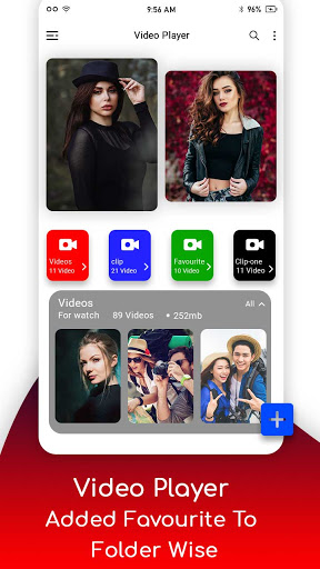 SAX VIDEO PLAYER - ALL FORMAT VIDEO PLAYER-PLAY it 2.6 screenshots 1