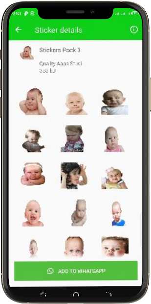 Funny Babies Stickers/Funny Stickers/Baby Stickers screenshot 4