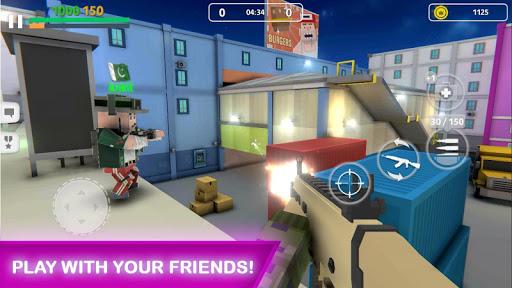 Block Gun: FPS PvP War - Online Gun Shooting Games android2mod screenshots 1