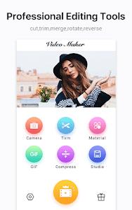 Video Maker Video Editor Clipvue - Cut, Photos 3.4.7 (Premium) (Armeabi-v7a)