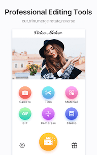 Video Maker Video Editor Clipvue Mod Apk- Cut, Photos (VIP Activated) 1