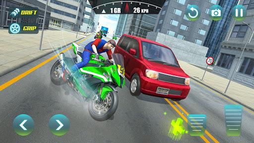 City Bike Driving Simulator-Real Motorcycle Driver android2mod screenshots 2
