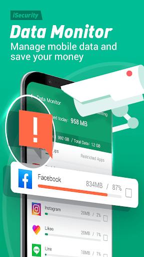 Antivirus, Virus Cleaner, Super Clean - iSecurity apktram screenshots 8