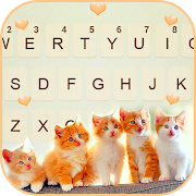 Cute Kittens Keyboard Background