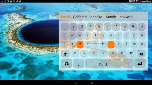 Danish Keyboard Plugin  screenshots 2