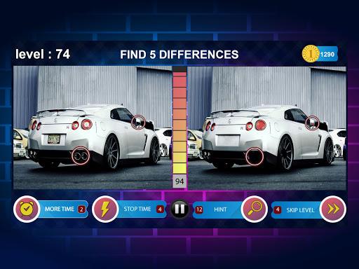 Spot 5 Differences 1000 levels 1.6.8 screenshots 13