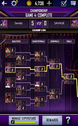 WWE SuperCard - Multiplayer Collector Card Game Apkfinish screenshots 20