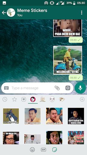 MEME Indonesia WA Stickers 1.0 Screenshots 2