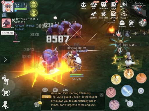 Ragnarok Origin: Fantasy Open World Online MMORPG Varies with device screenshots 16