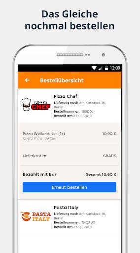 pizza.de | Food Delivery 6.20.0 screenshots 4