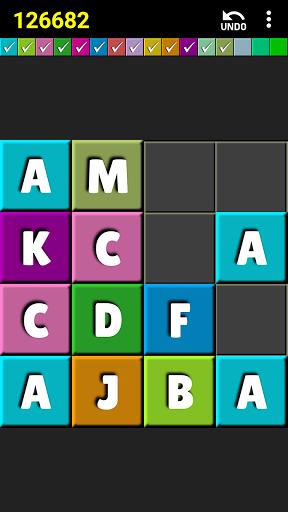 2048 colors puzzle screenshot 2