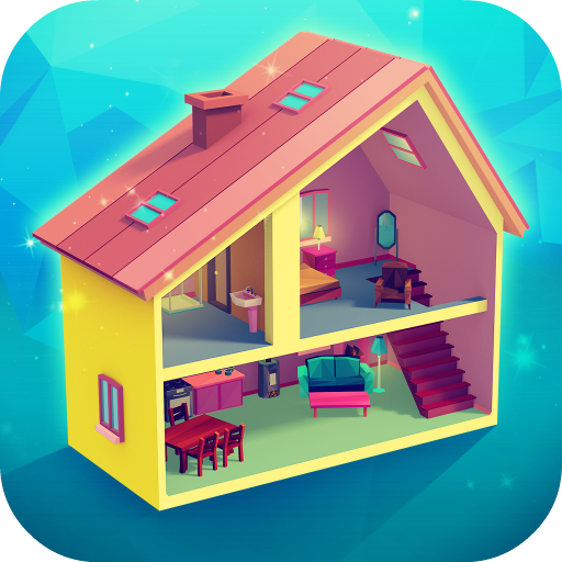 Baixar My Little Dollhouse: Craft & Design Game for Girls para Android