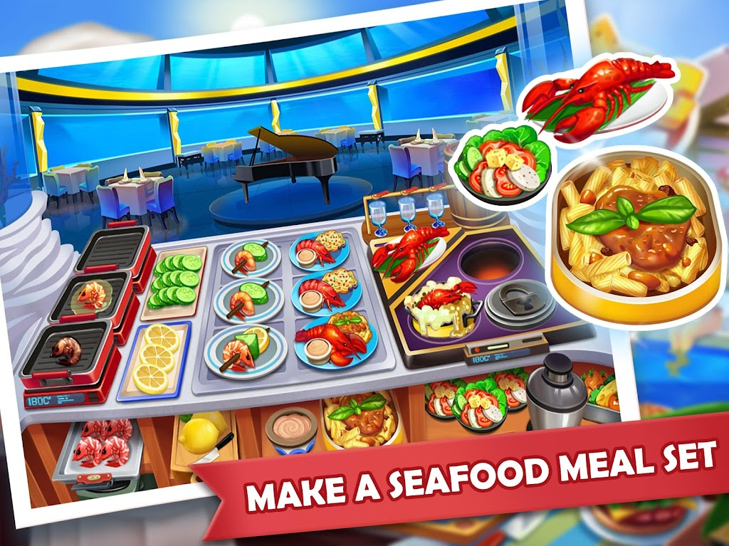 Cooking Madness - A Chef's Restaurant Games  poster 13