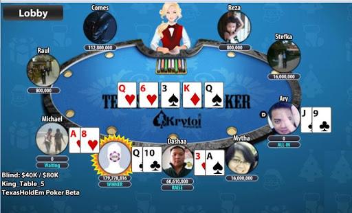 Krytoi Texas HoldEm Poker 11.1.3 screenshots 5