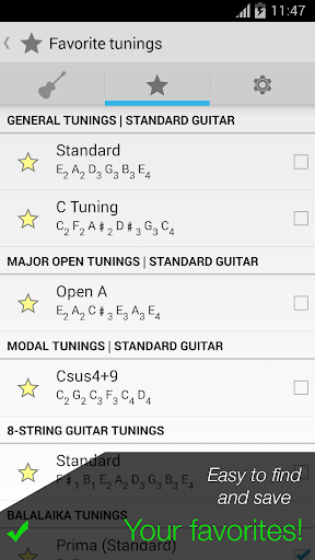 Pro Guitar Tuner 3.1.10 Screenshots 4
