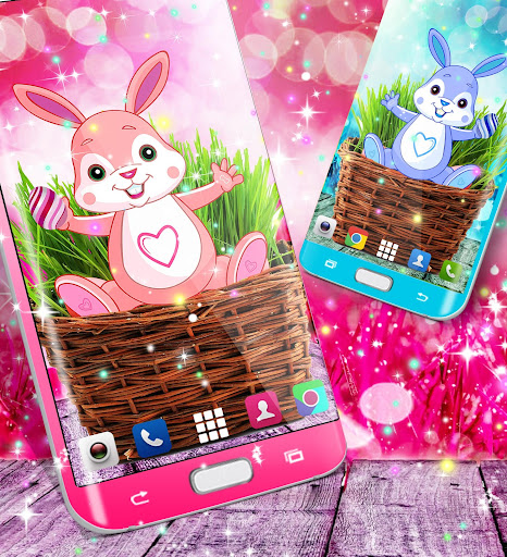 Cute bunny live wallpaper for android modavailable screenshots 3