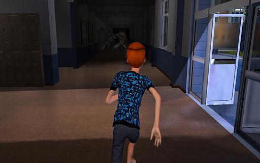 Télécharger Scary Lizard Man School - Horror Escape Game APK MOD (Astuce) screenshots 1