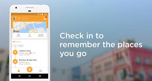 Foursquare Swarm: Check In 6.9.1 Screenshots 1