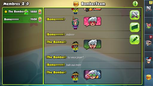 Code Triche Bomber Friends (Astuce) APK MOD screenshots 2