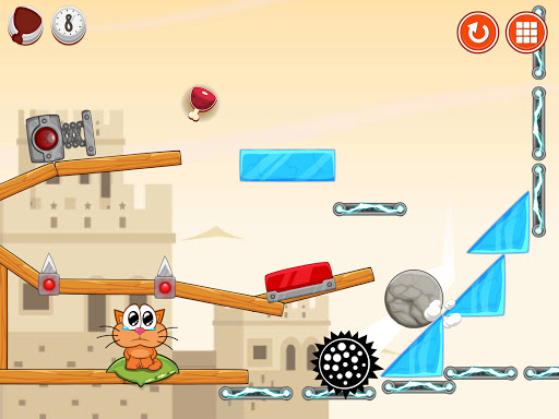 Hungry cat: physics puzzle game apkdebit screenshots 10