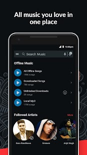 Wynk Music- New MP3 Hindi Tamil Song & Podcast App Screenshot