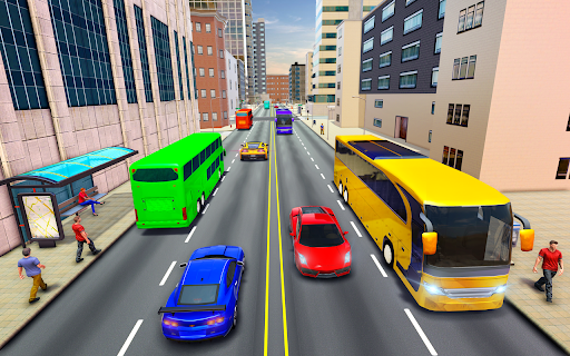 City Coach Bus Simulator 3d - Free Bus Games 2020 1.0.3 Screenshots 17