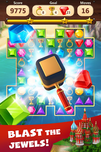 Jewels Planet - Free Match 3 & Puzzle Game 1.2.18 screenshots 2