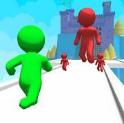 Giant Clash 3D - Join Color Run Race Rush Games