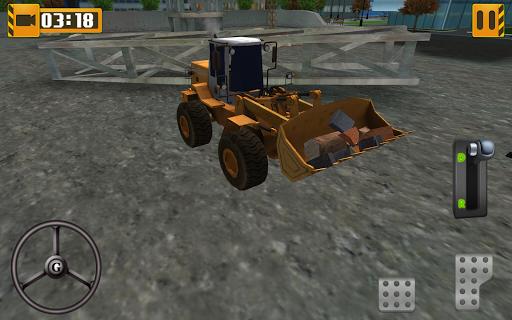 heavy equipment loader simulator screenshot 1