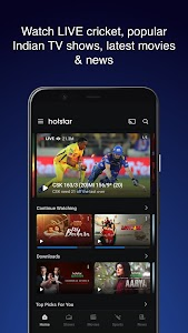 Hotstar - Live Cricket, Indian Movies, TV Shows 12.0.0