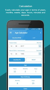 Age Calculator: Reminder Birthday For Pc (Free Download – Windows 10/8/7 And Mac) 1
