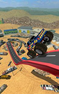Construction Ramp Jumping - Screenshot 11