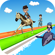 Perfect Rider : Epic Race 3D
