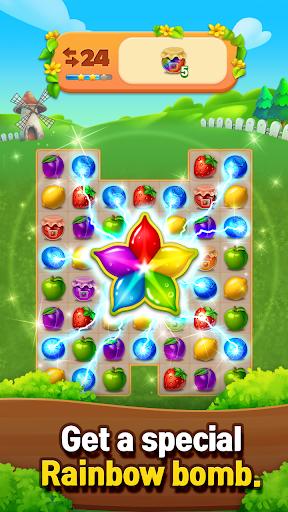 Fruits Farm: Sweet Match 3 games 1.1.0 screenshots 4