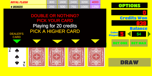 Deuces Wild - Video Poker 1.9 screenshots 14