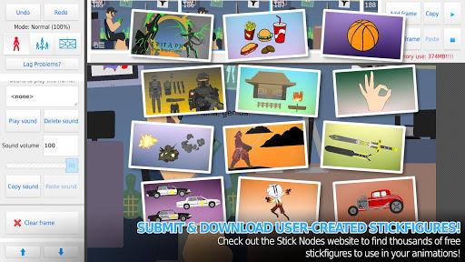 Download Stick Nodes Pro - Stickfigure Animator mod apk 2