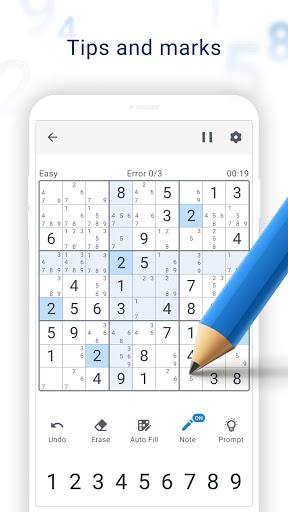 Sudoku - Free Classic brain puzzle, Number game 1.1.5 screenshots 3