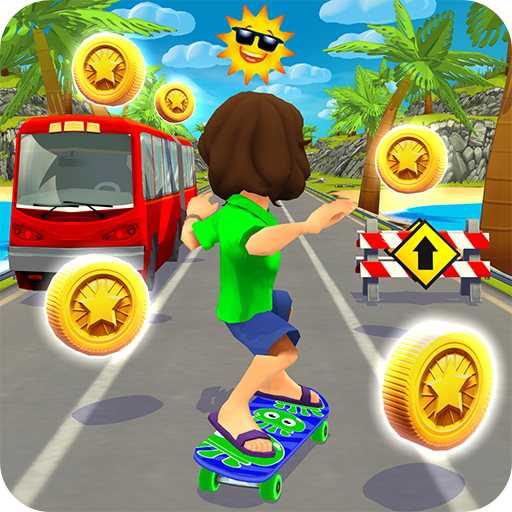 Skater Rush - Endless Skateboard Game