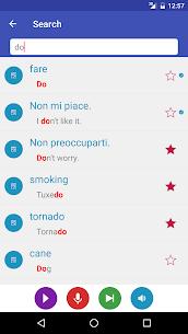 Learn Italian 9000 Words PRO v1.6.1 MOD APK 5