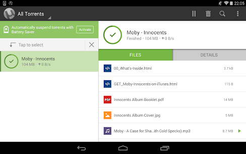 Download Utorrent Pro Apk Torrent App 6.5.7 Apk For Android+Mod [Paid] 7