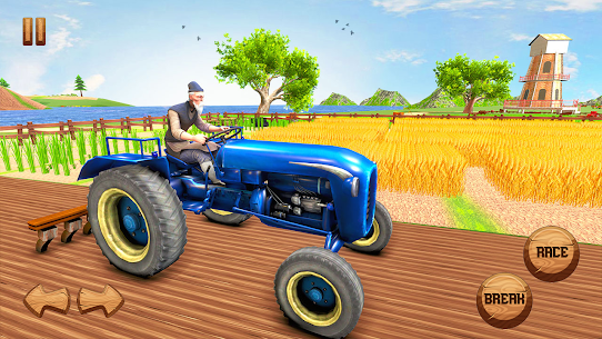 Real Farming Tractor Farm Simulator  Tractor Games Apk 4