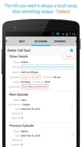 Next Episode - Track TV Shows, Movies & TV Series  screenshots 6