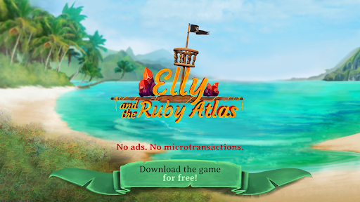 Elly and the Ruby Atlas u2013 FREE Pirate Games  screenshots 8