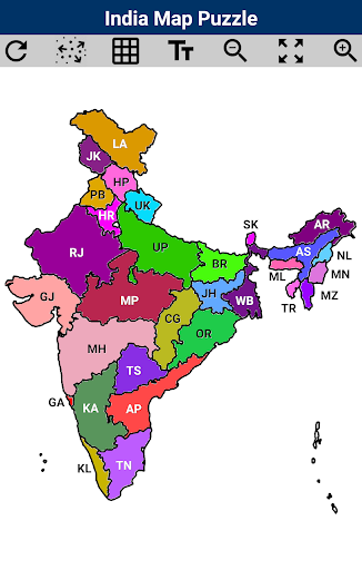 India Map Puzzle  Pc-softi 3