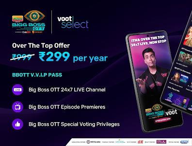 Bigg Boss OTT, Voot Select Originals, Colors TV 4.1.6