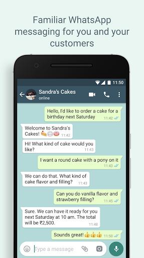 WhatsApp Business Apkfinish screenshots 6
