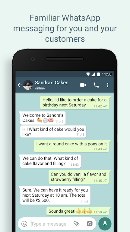WhatsApp Business RCT poster 5